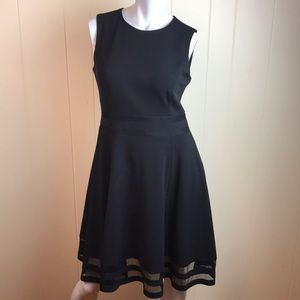 Calvin Klein Fit & Flair Sleeveless Party Dress